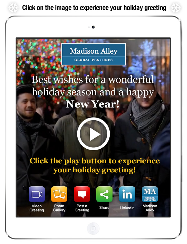 Madison Alley holiday greeting 2014